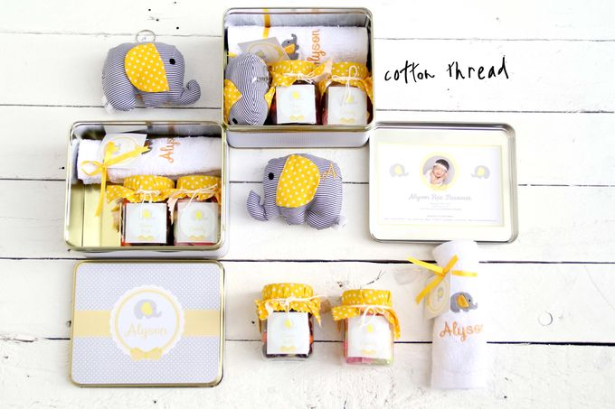 Custom Hampers for Baby Alyson by Cotton Thread - 004