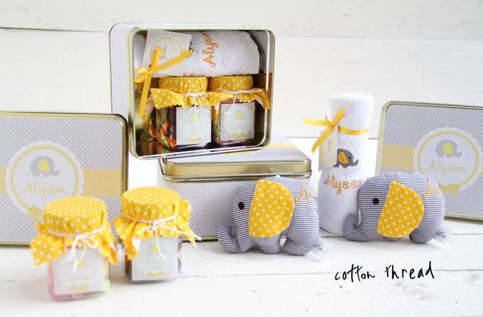 Custom Hampers for Baby Alyson by Cotton Thread - 007