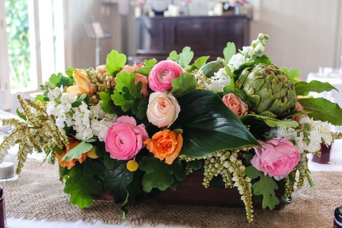 Ceremony and Reception by Affair with George  Florals & Event Styling - 034