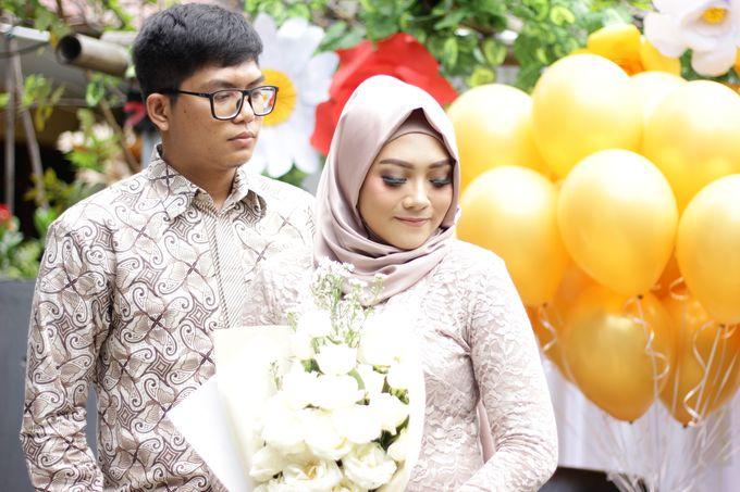 Annisa & Setia Engagement by Garland Galore Flower Shop - 002