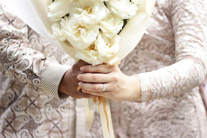 Annisa & Setia Engagement by Garland Galore Flower Shop - 005