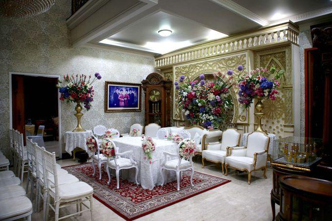 Akad Nikah dr Fika & dr Arif by Watie Iskandar Wedding Decoration & Organizer - 003