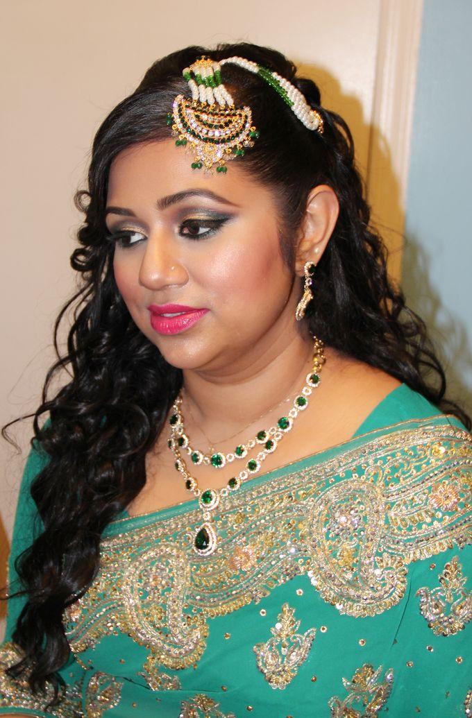Indian Brides by Elza Finishya Makeup Artist - 006