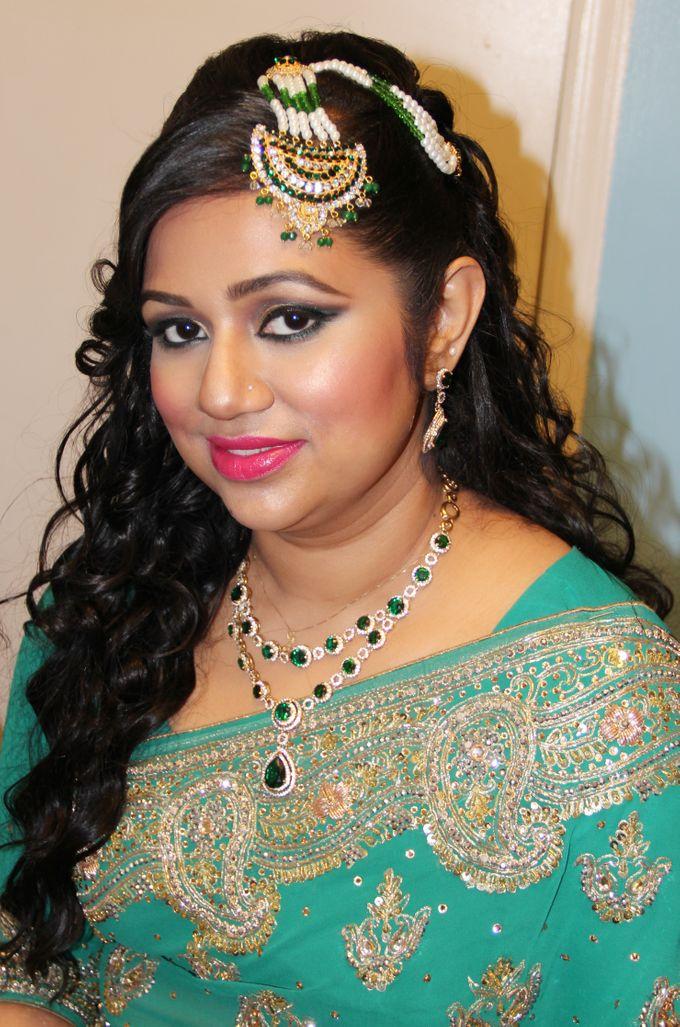 Indian Brides by Elza Finishya Makeup Artist - 007