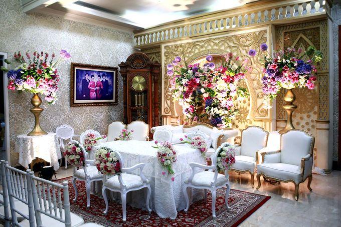 Akad Nikah dr Fika & dr Arif by Watie Iskandar Wedding Decoration & Organizer - 005