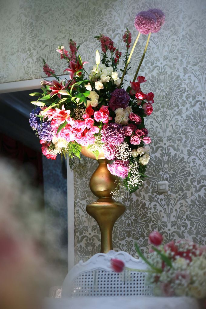 Akad Nikah dr Fika & dr Arif by Watie Iskandar Wedding Decoration & Organizer - 006
