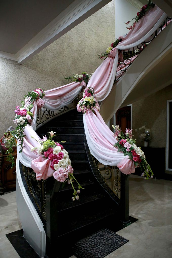 Akad Nikah dr Fika & dr Arif by Watie Iskandar Wedding Decoration & Organizer - 007