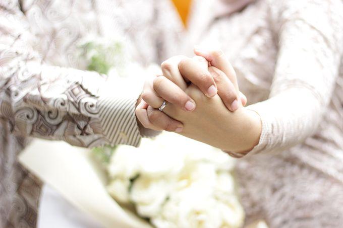 Annisa & Setia Engagement by Garland Galore Flower Shop - 006