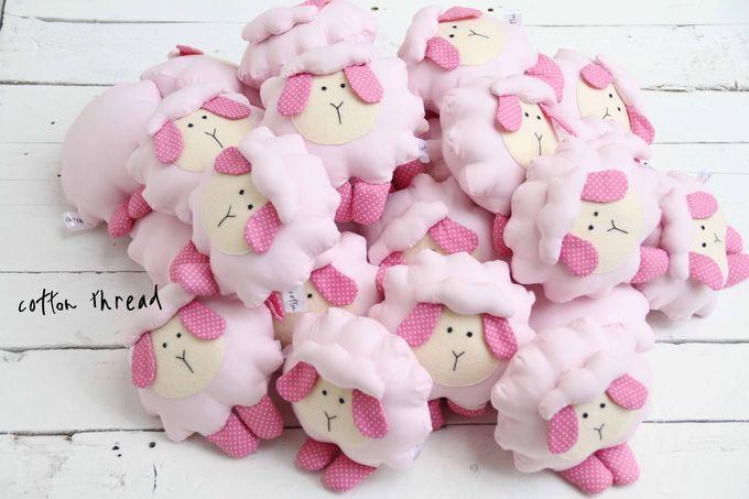 Fluffy Sheep by Cotton Thread - 001