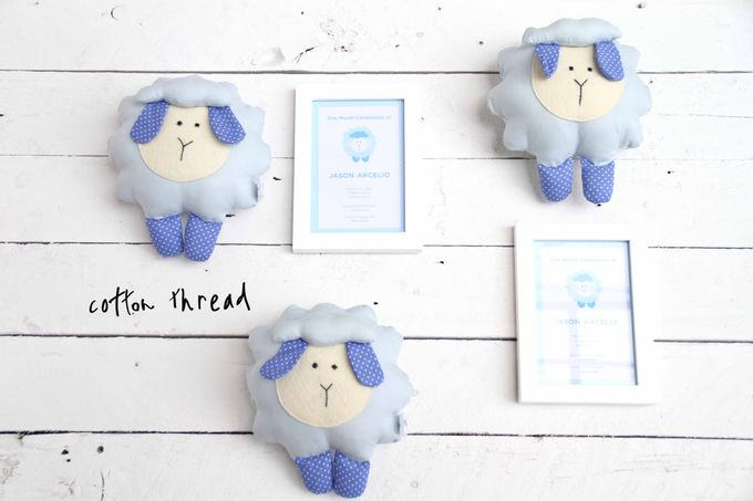 Fluffy Sheep by Cotton Thread - 004