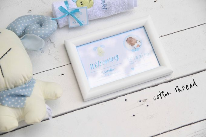 Custom Hampers for Baby Kristoffer by Cotton Thread - 003