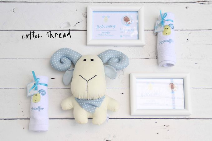 Custom Hampers for Baby Kristoffer by Cotton Thread - 005