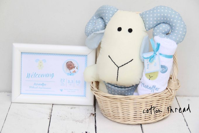 Custom Hampers for Baby Kristoffer by Cotton Thread - 007