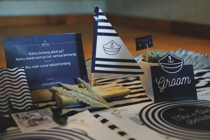 #TIKAUUSBERLABUH Nautical Wedding by Malaka Hotel Bandung - 027