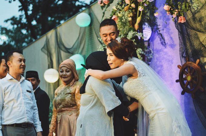 #TIKAUUSBERLABUH Nautical Wedding by Malaka Hotel Bandung - 035