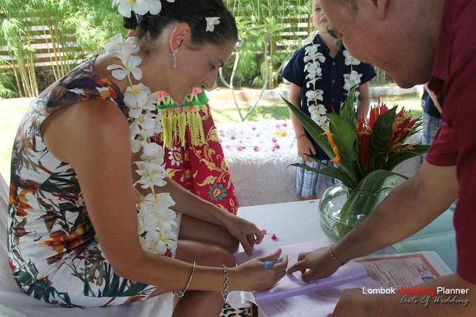 Legal Wedding In Lombok by lombok wedding planner - 023