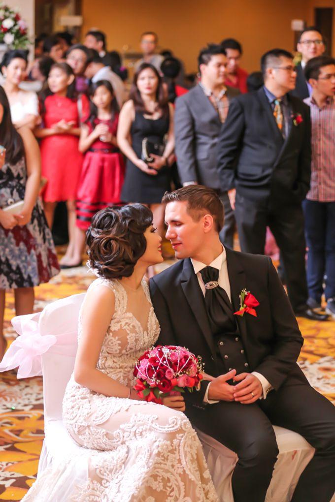 Nicole & Bojan WeddingDay by Anaz Khairunnaz - 027