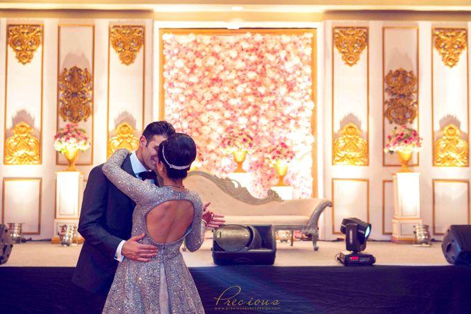 Gleaming Gold Wedding by Precious Event Design - 009