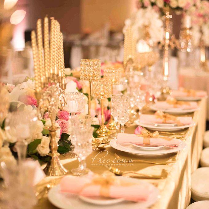 Gleaming Gold Wedding by Precious Event Design - 010