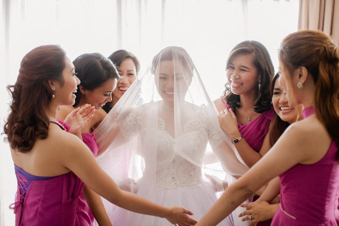 Garden Wedding in Tagaytay by Honeycomb PhotoCinema - 016