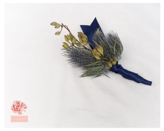 boutonniere by Pivoine Flower Shop - 006