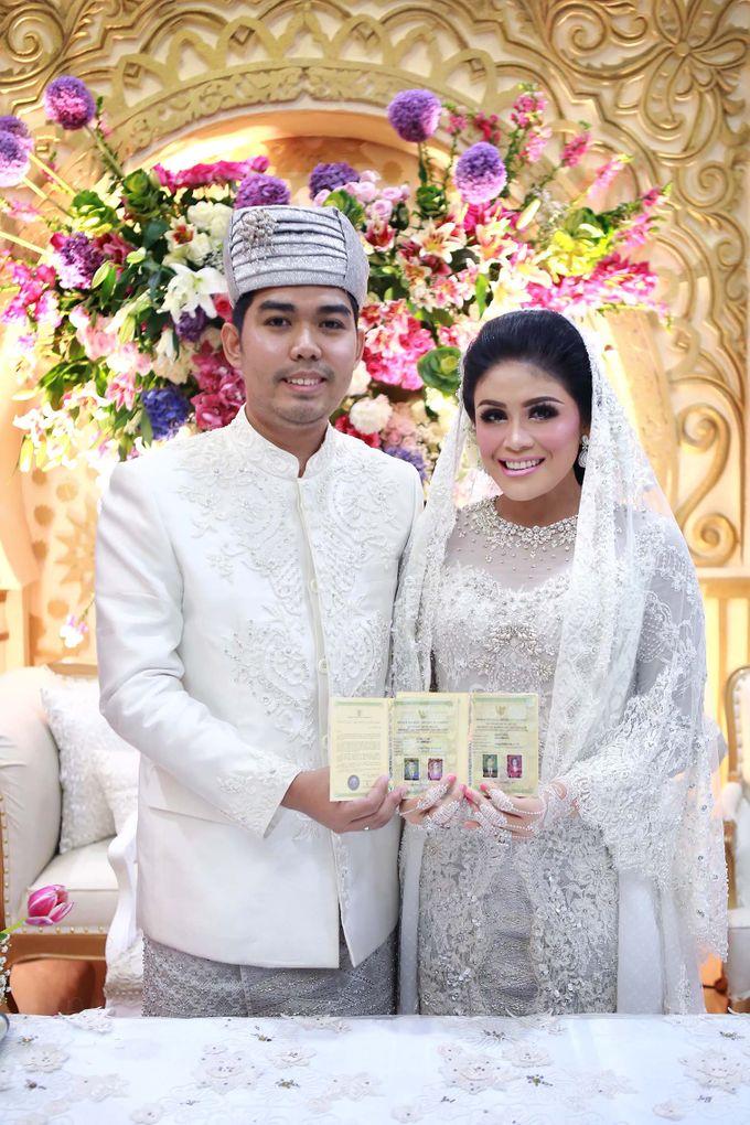 Akad Nikah dr Fika & dr Arif by Watie Iskandar Wedding Decoration & Organizer - 008