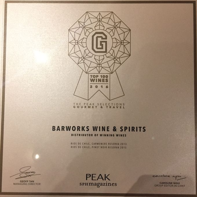 G TOP 100 WINES AWARDS CEREMONY 2016 - WINNERS by Barworks Wine & Spirits Pte Ltd - 005