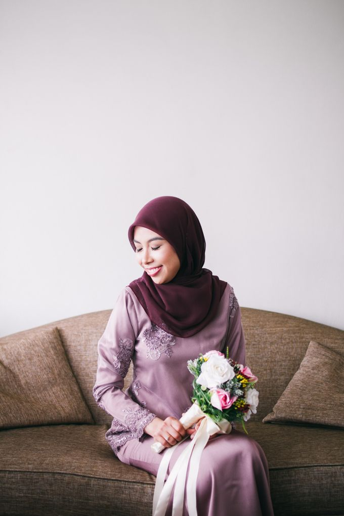 The engagement ceremony of Fauzana & Haqqa by Hanif Fazalul Photography & Cinematography - 009