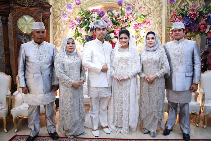 Akad Nikah dr Fika & dr Arif by Watie Iskandar Wedding Decoration & Organizer - 009