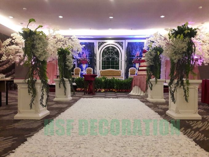 Wedding Decoration by Home Smile Florist - 007