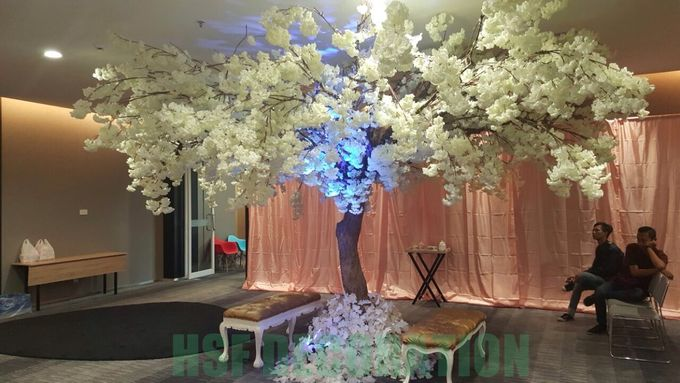 Wedding Decoration by Home Smile Florist - 008
