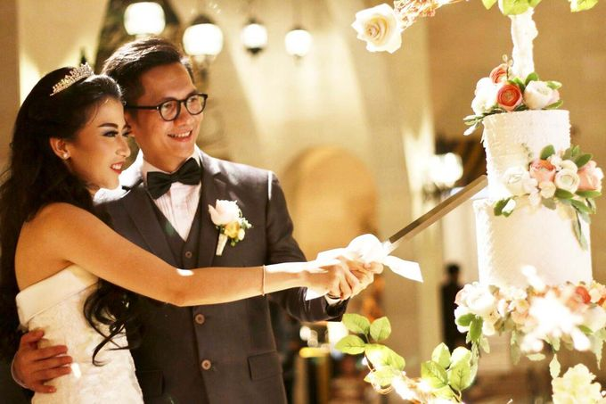 Intimate Wedding - Morocco House Jakarta by Ivoire Cake Design - 003