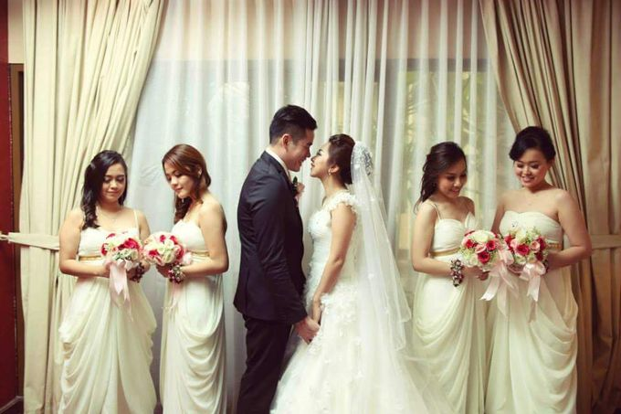 The Wedding of Cellvin & Kezia by IBELmakeuppro - 001