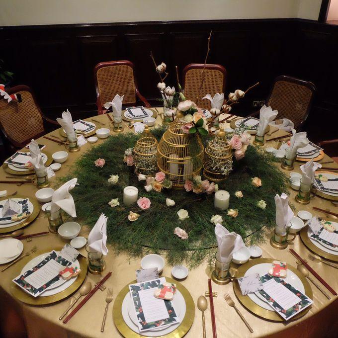 Table Decoration by Les Fleur Flower Design - 006