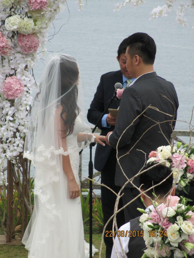 Beverly & Sean Wedding by Khayangan Estate - 003