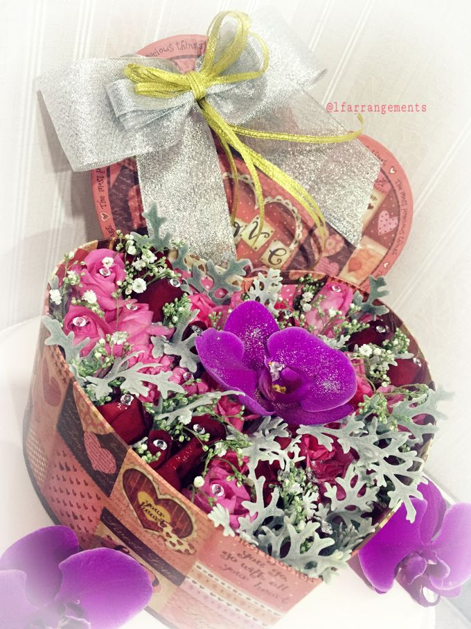 Flower gift and box by Love Flower - 007