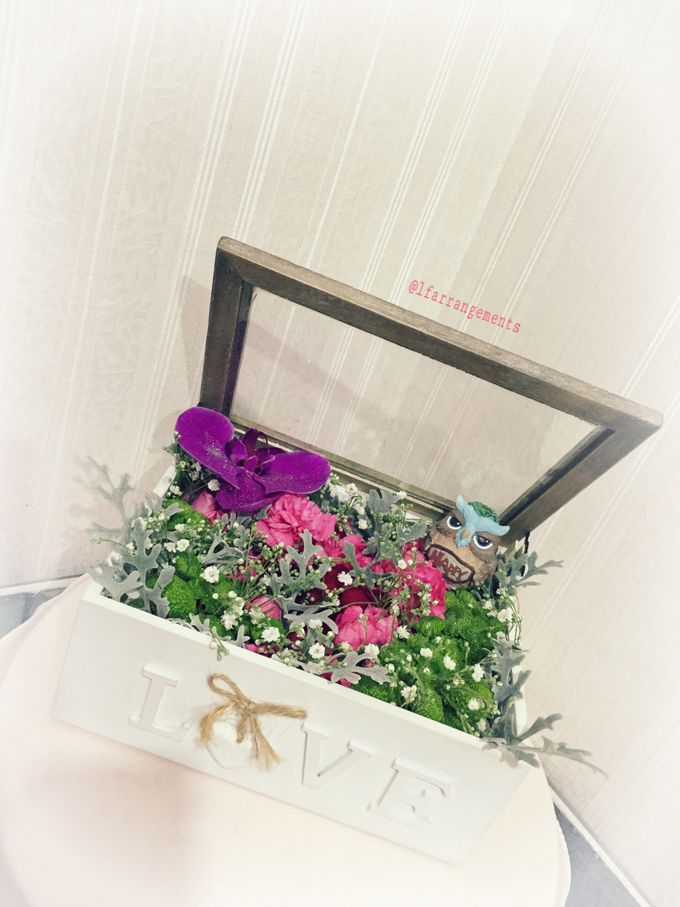 Flower gift and box by Love Flower - 008