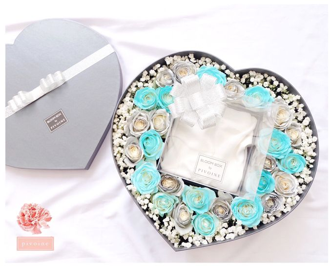 ring box by Pivoine Flower Shop - 002