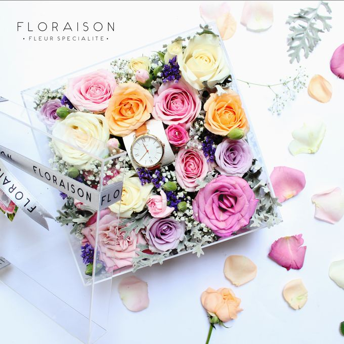 """See me Thru"" Bloom box by Floraison - 007"