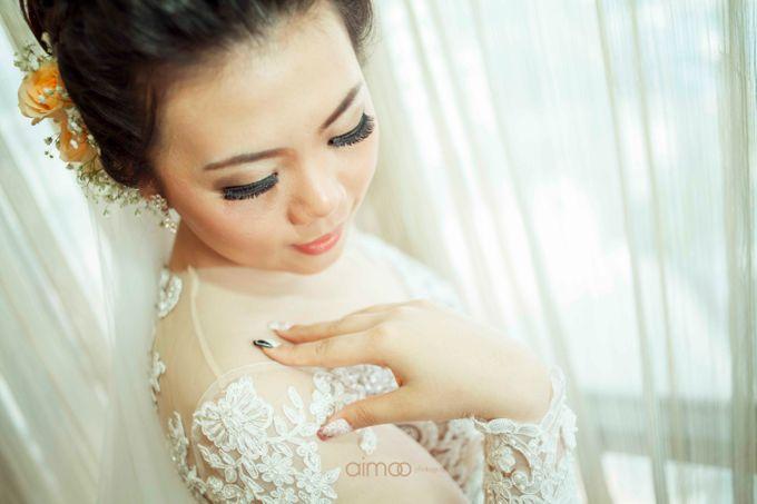 The Wedding of Robby & Selvy by Nathalia TAN Makeup Artist - 005