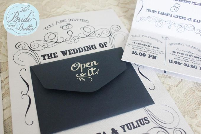 INVITATION - Yulius & Iva by The Bride and Butter - 002