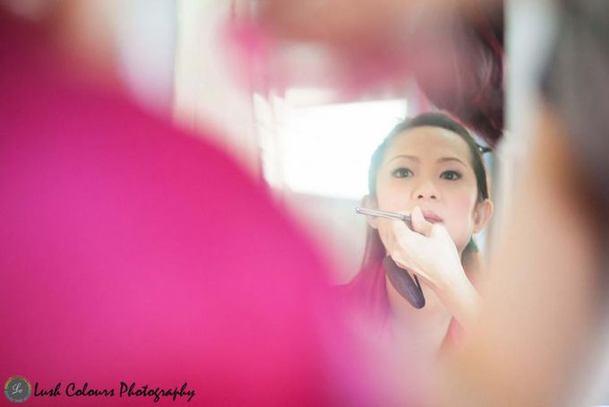 Actual Day Wedding of Jeremy and Weiling by Lush Colours Photography - 001