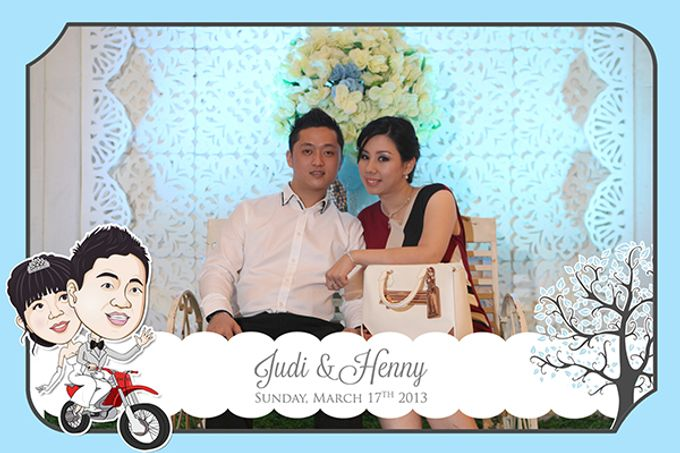 The Wedding of Judy & Henny by After 5 Photobooth - 001