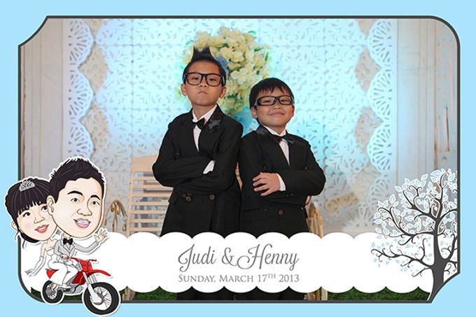 The Wedding of Judy & Henny by After 5 Photobooth - 003
