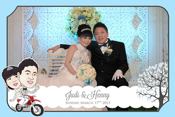 The Wedding of Judy & Henny by After 5 Photobooth - 004