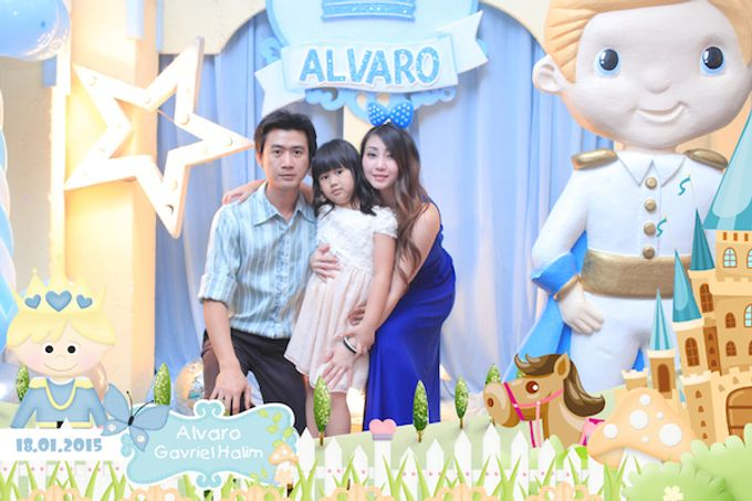 First Birthday of Alvaro by After 5 Photobooth - 001