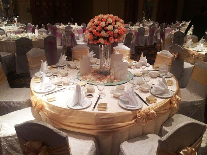 Indoor Wedding by Shangri-La's Tanjung Aru Resort & Spa - 003