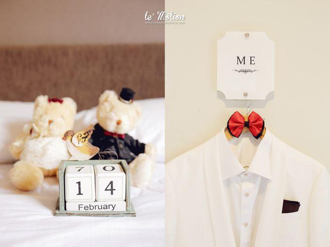 Tisya & Ferry - International Wedding by Imelda Hudiyono Bride - 002