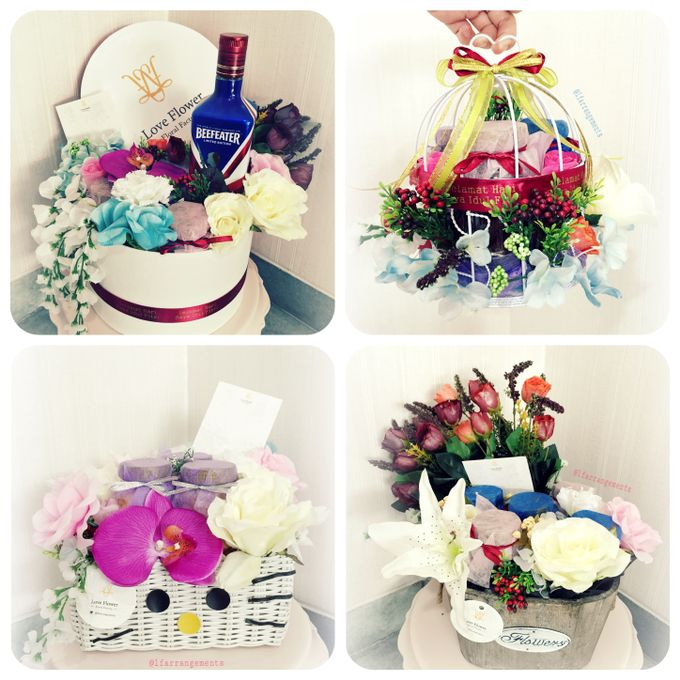 Flower gift and box by Love Flower - 009