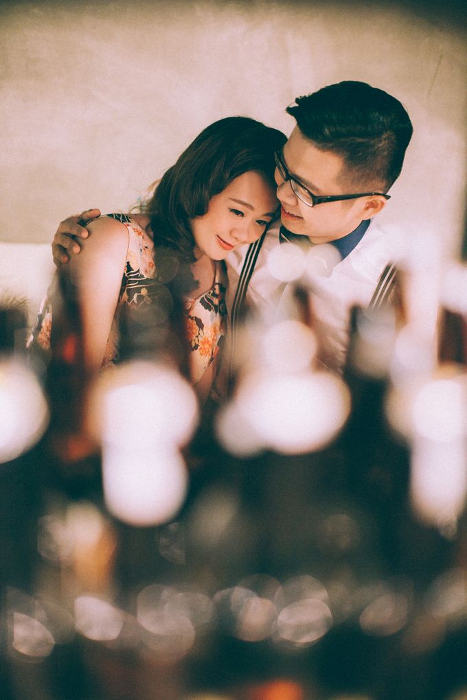 Couple portrait by The Wedding Barn Gallery - 002